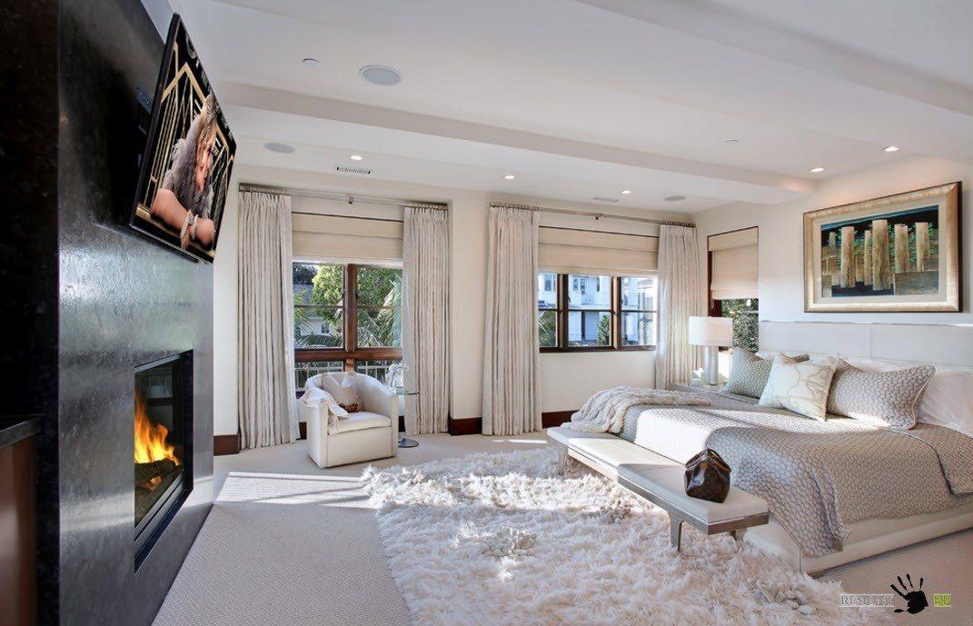 Светлая палитра для спальной комнаты
