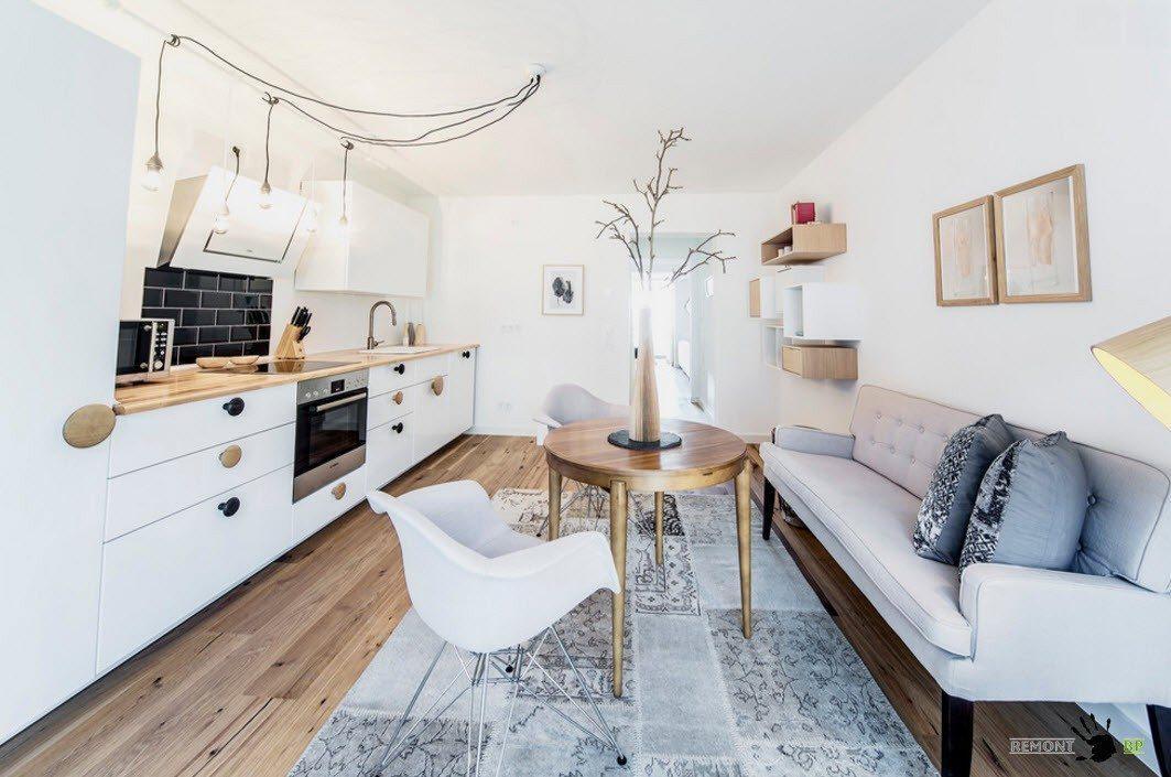 Место для отдыха в кухонном помещении