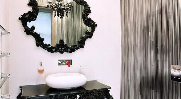 Люстра для современного интерьера ванной комнаты