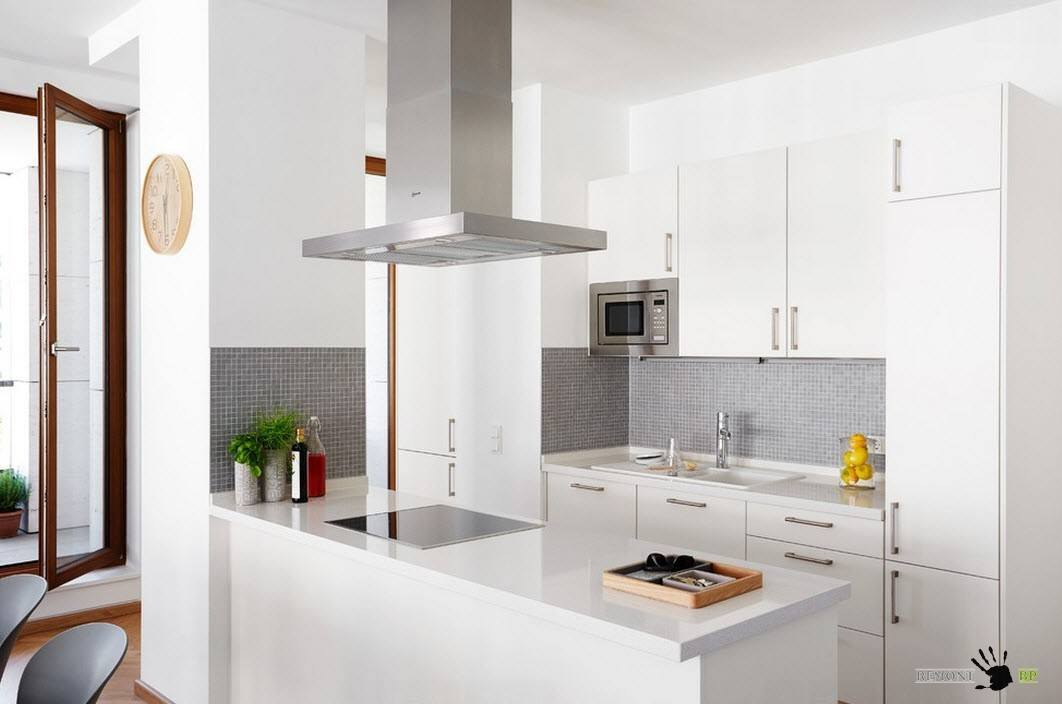 Описание: Белый цвет для кухонного гарнитура