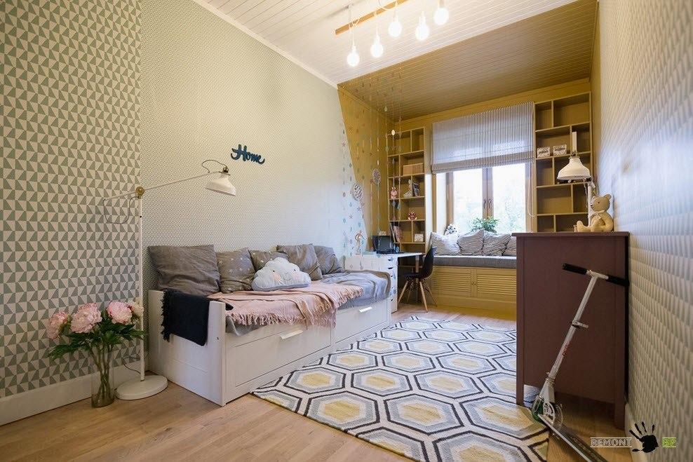 Обустройство комнаты для подростка