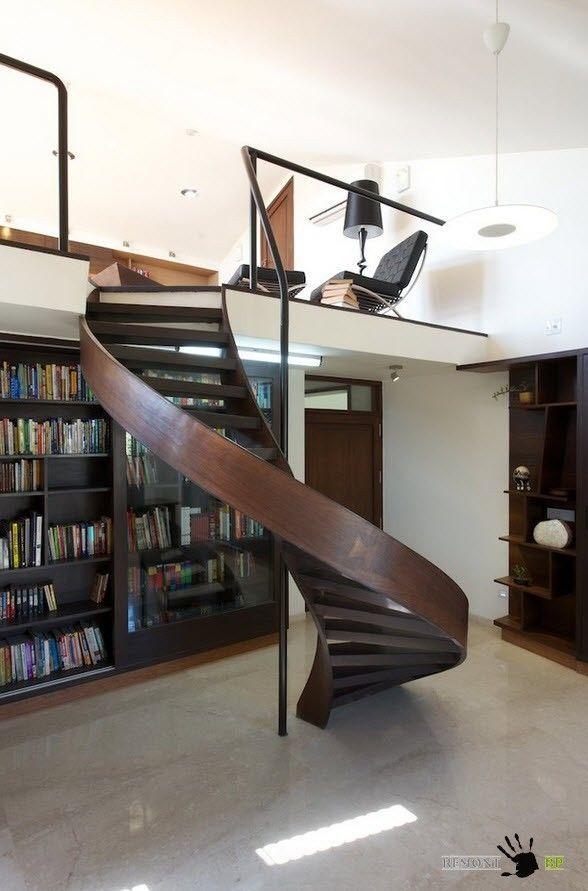 Лестница в один винт