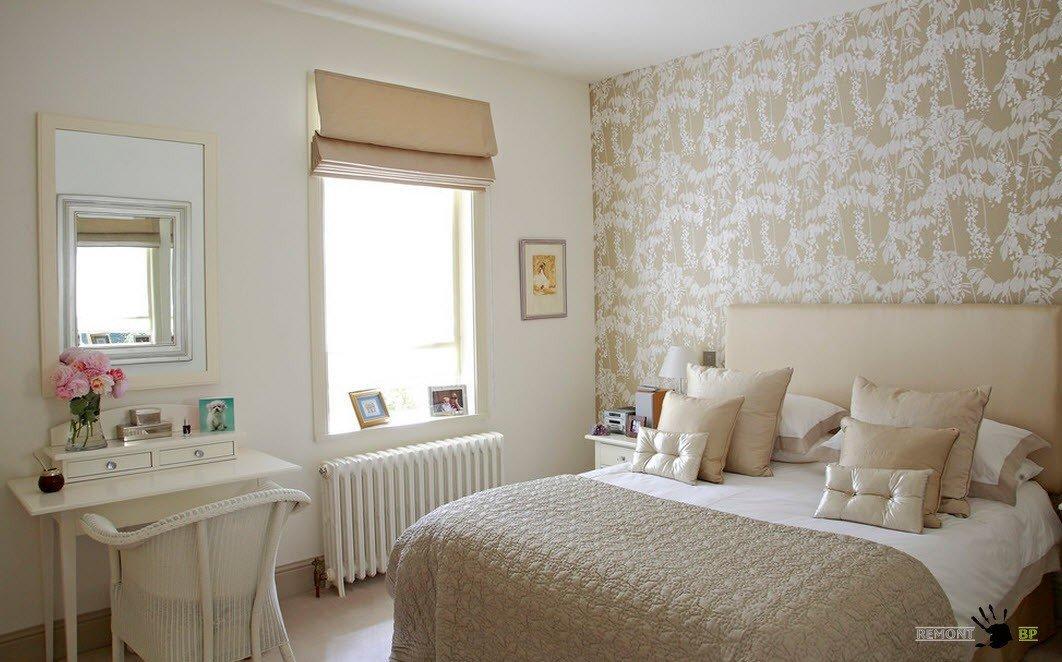 Пастельные тона для оформления спальни