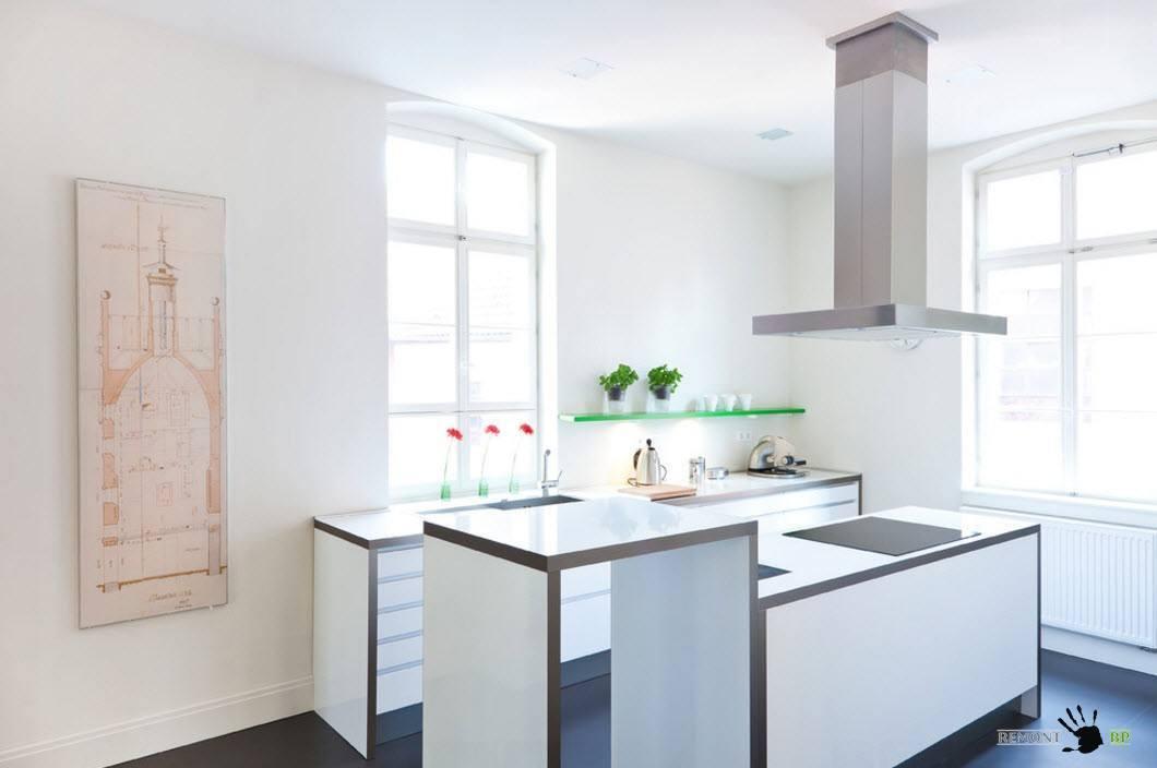 Интерьер кухни малых размеров