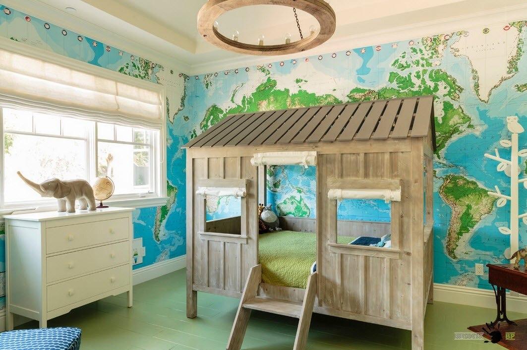 Необычная кровать-домик
