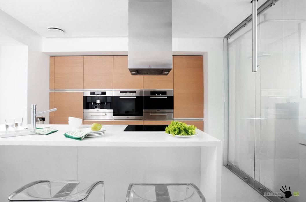 Описание: Современный интерьер кухни