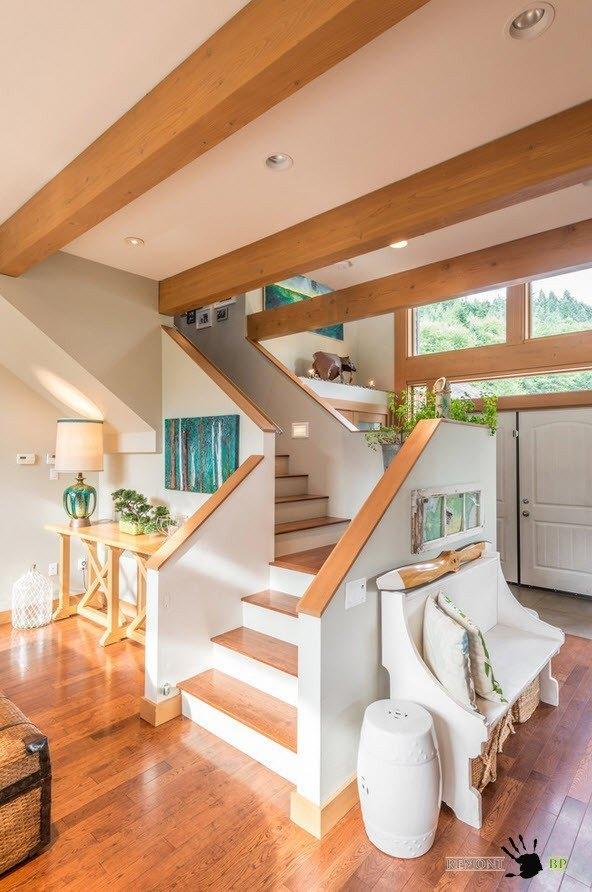 Лестница в современном жилище