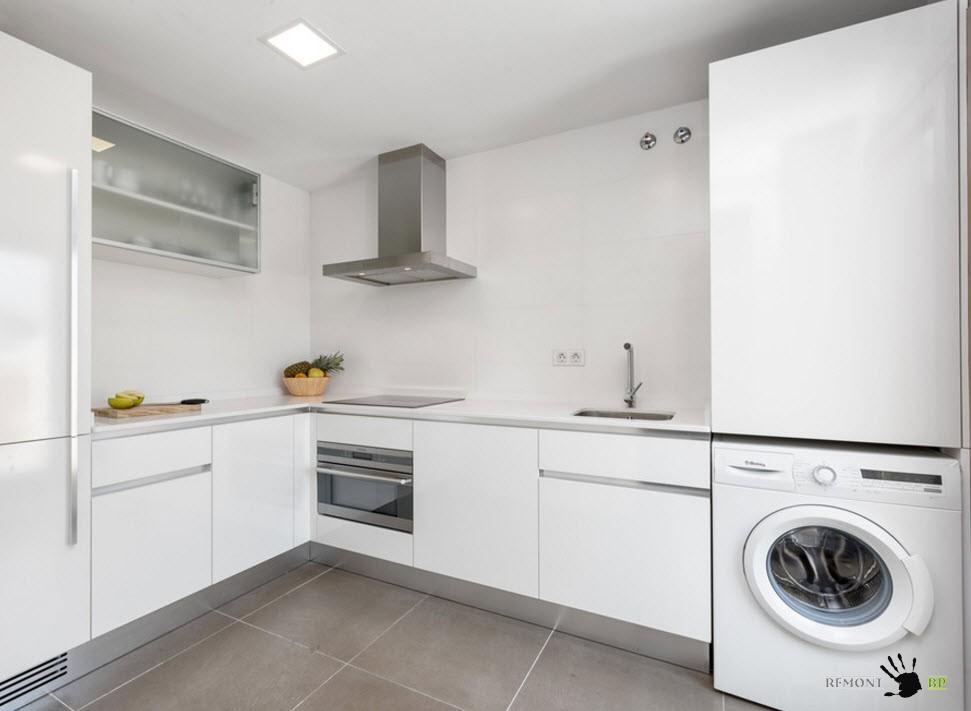 Плитка для белой кухни