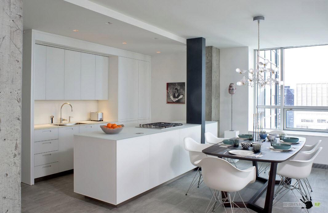 Описание: Светлая палитра для кухонного дизайна