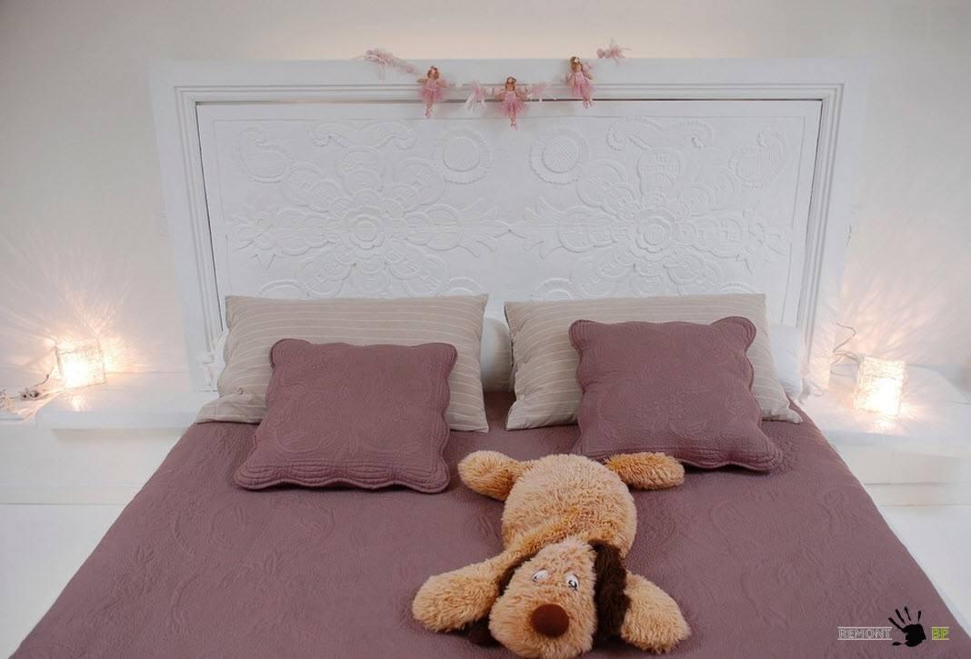 Текстильное оформление для спальни