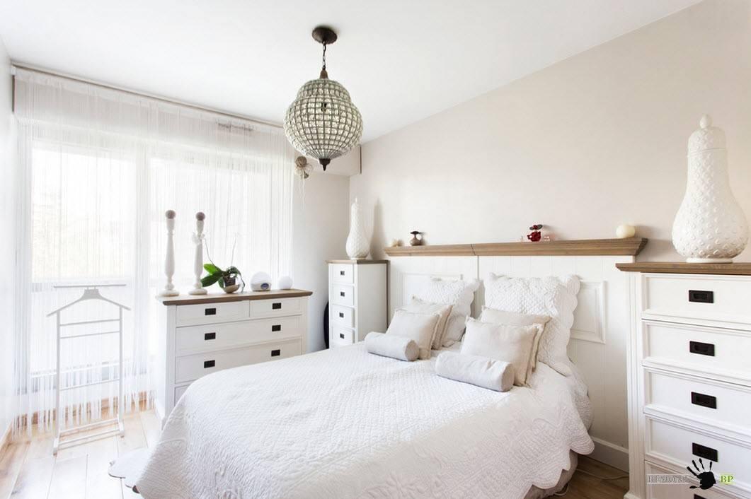 Светлая палитра для спальни