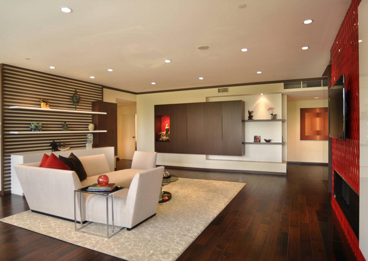 Системы хранения для современной гостиной