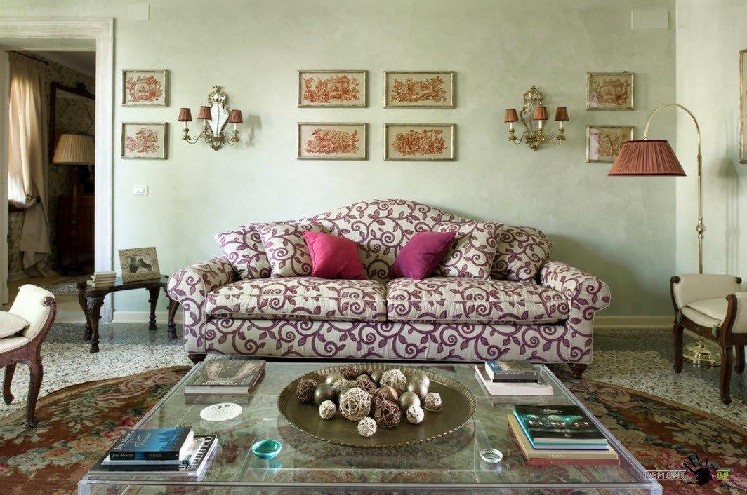 Оригинальная обивка дивана