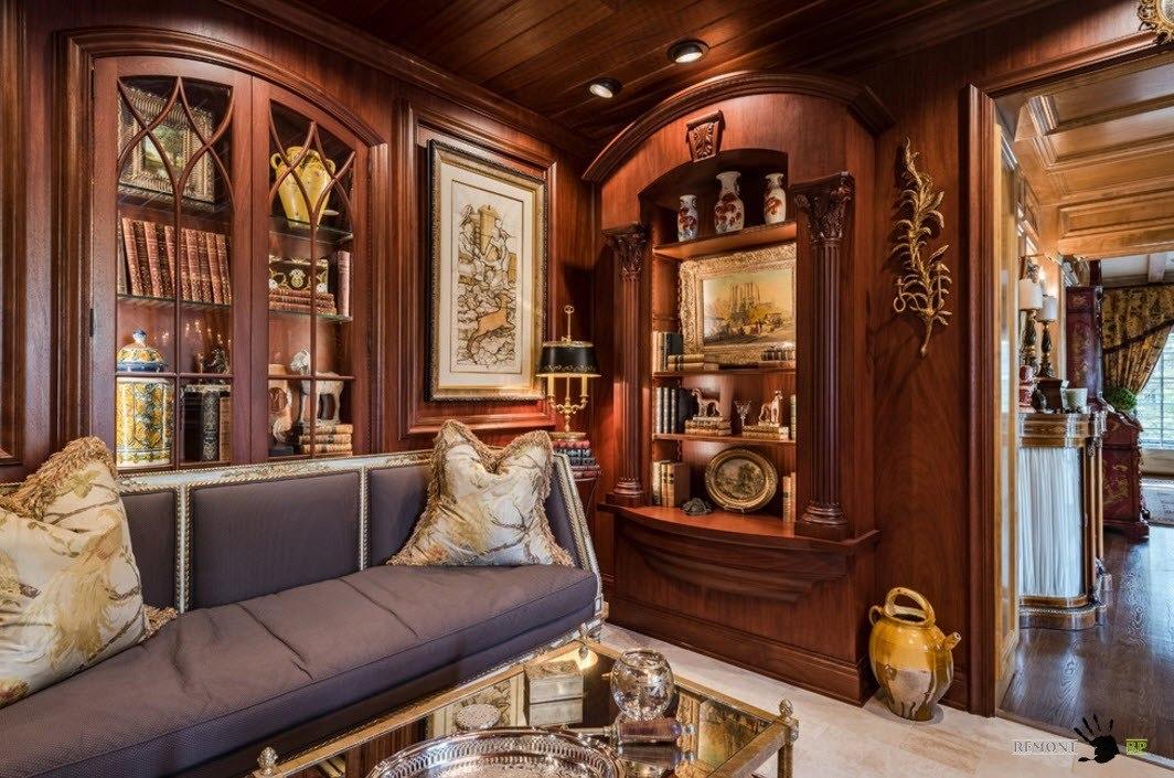 Корпусная мебель из ценных пород древесины