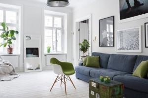 Скандинавский стиль в оформлении шведской квартиры