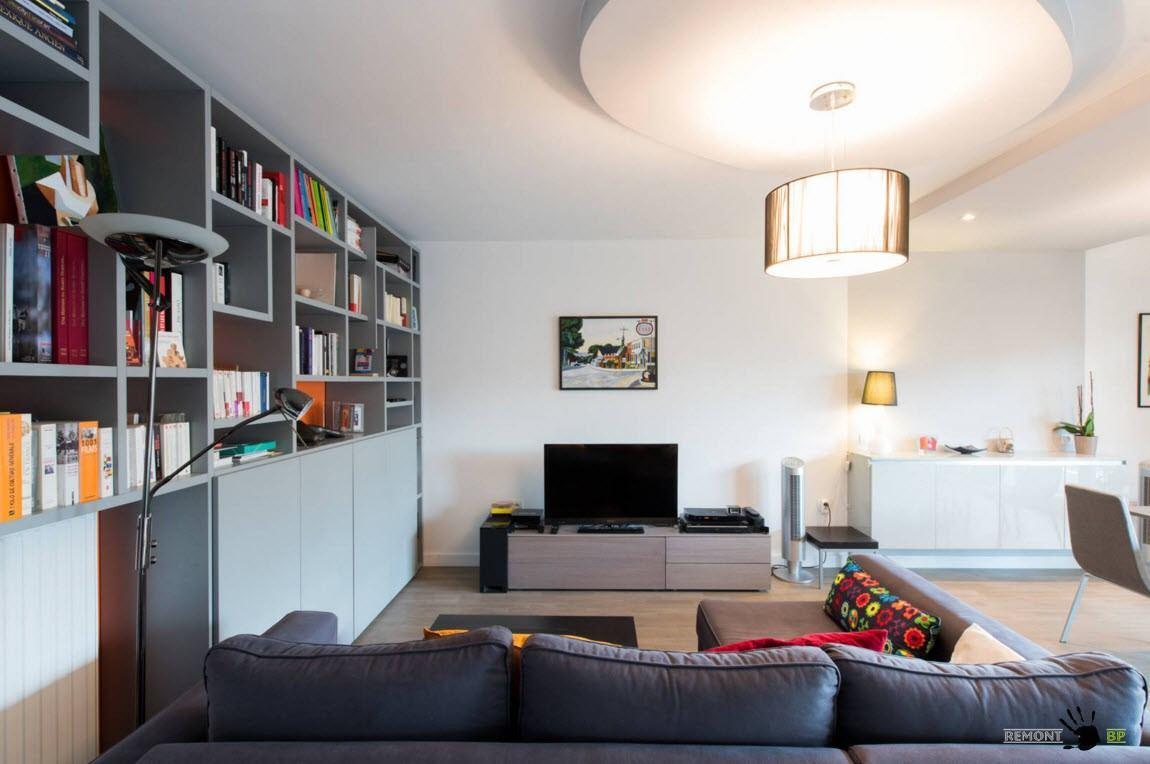 Мебель серого цвета - актуальное решение