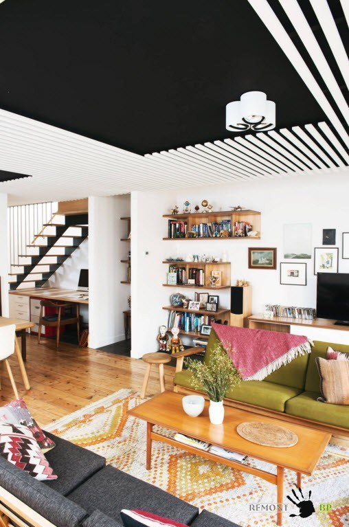 Дизайн потолков 2016 года: 100 современных идеи на фото