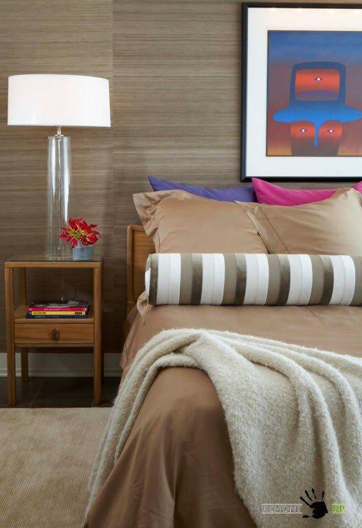 Флизелиновые обо для спальни