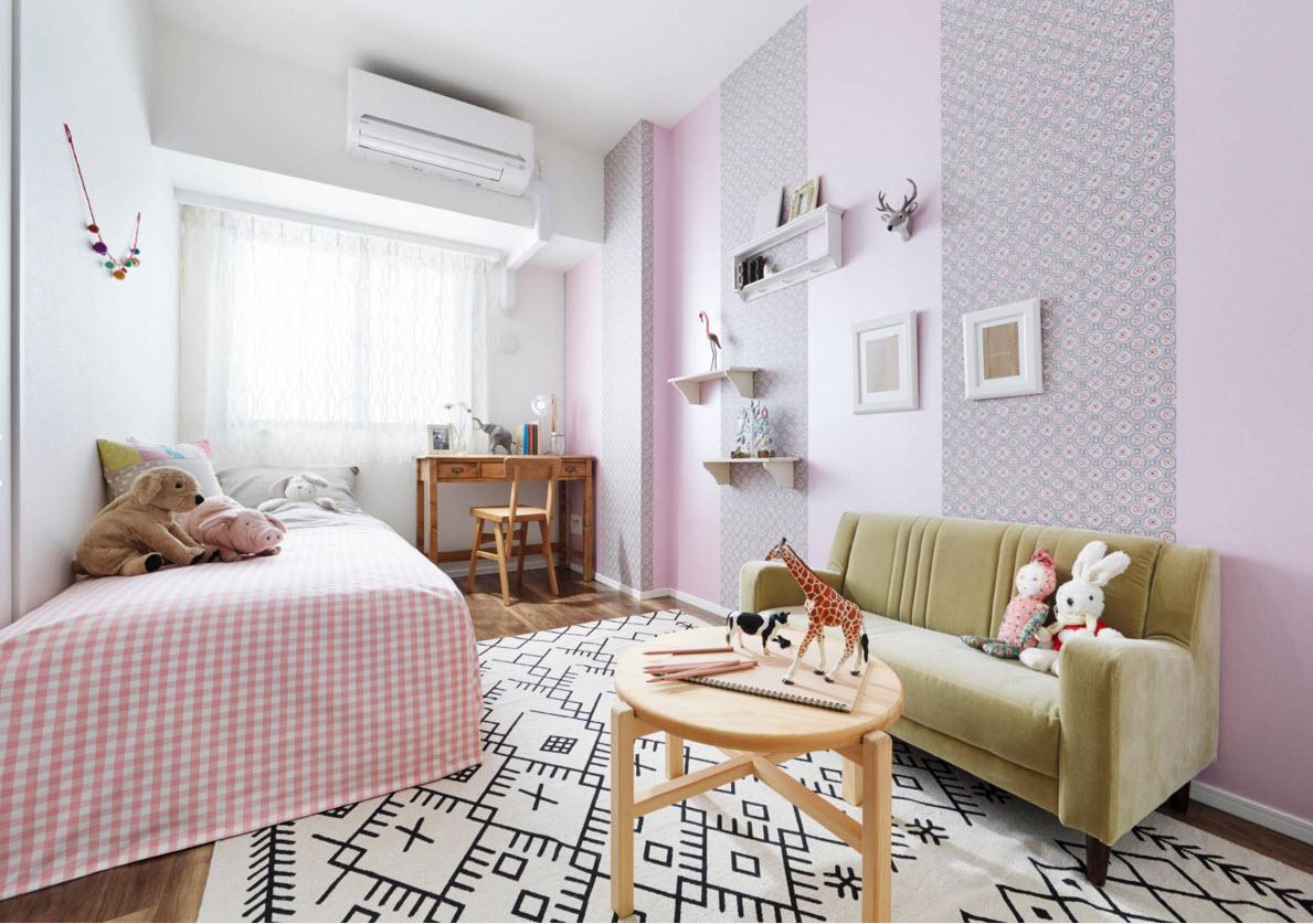 Сочетание цветов для детской комнаты