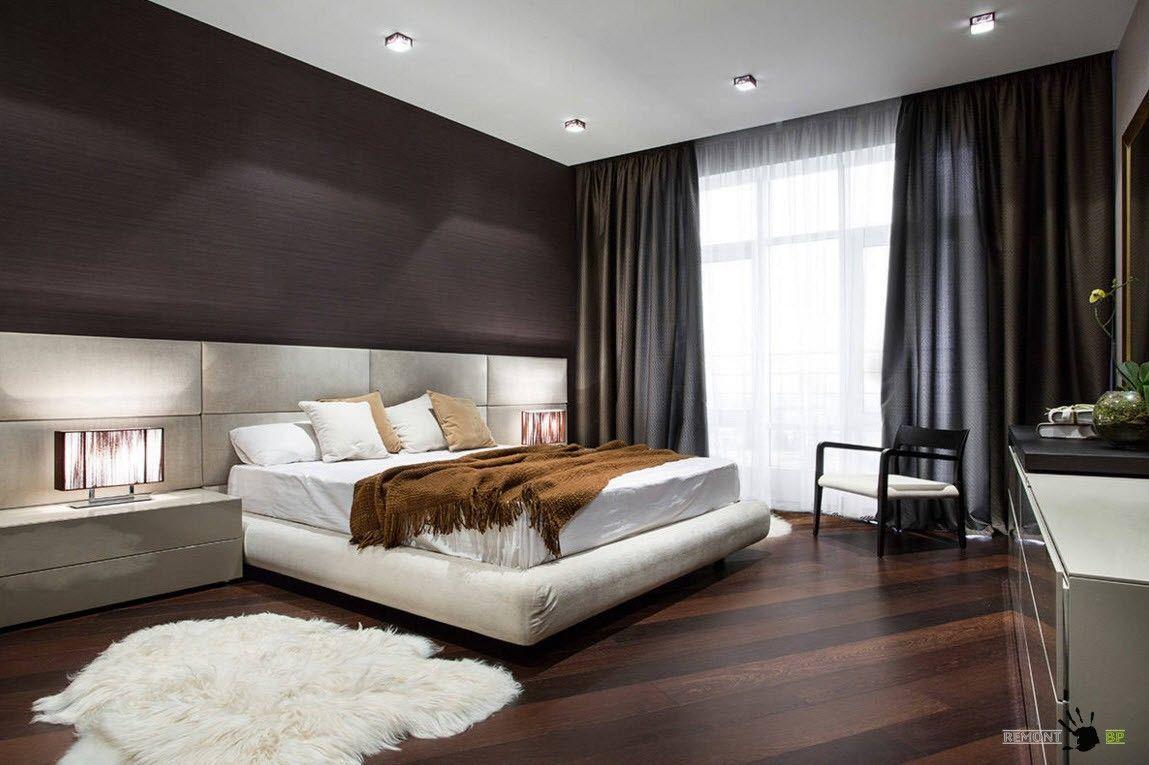 Дизайн штор для спального помещения