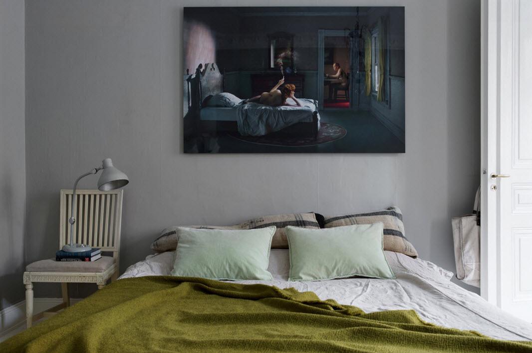 Оформление спального места