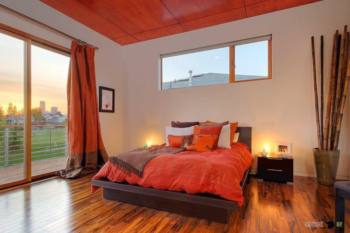 Соответсвие цвета штор и оформления спального места