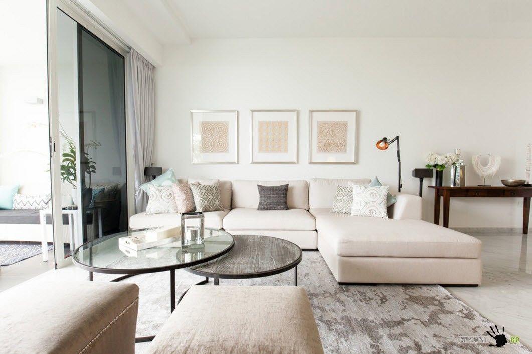 Угловой диван - центр гостиной