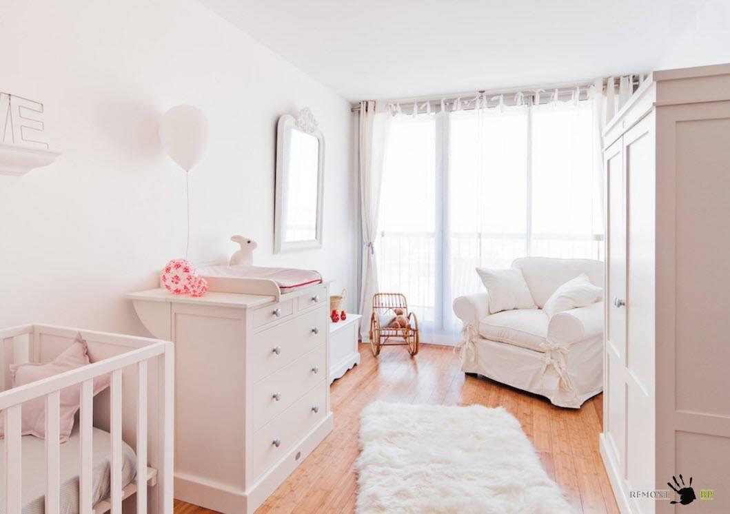 Меблировка комнаты для младенца