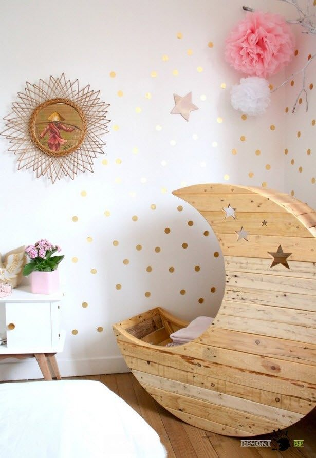 Необычное исполнение спального места