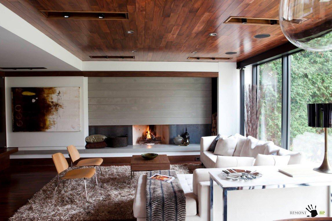 Деревянное покрытие для загородного жилья