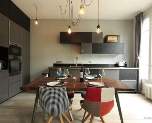 Современный интерьер кухонного помещения