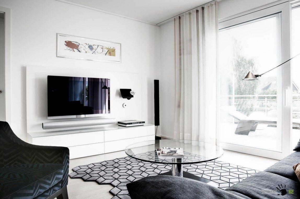 Бело-черный дизайн