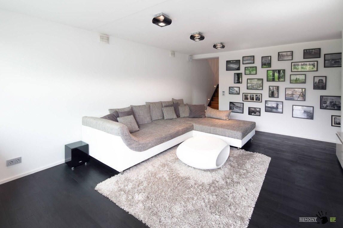 Дизайн гостиной 2016 года: 100 современных фото идей