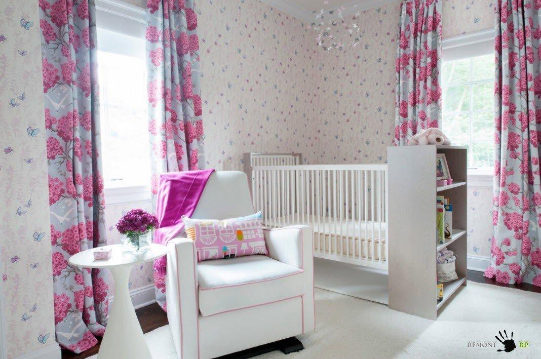 Декорирование комнаты для новорожденного
