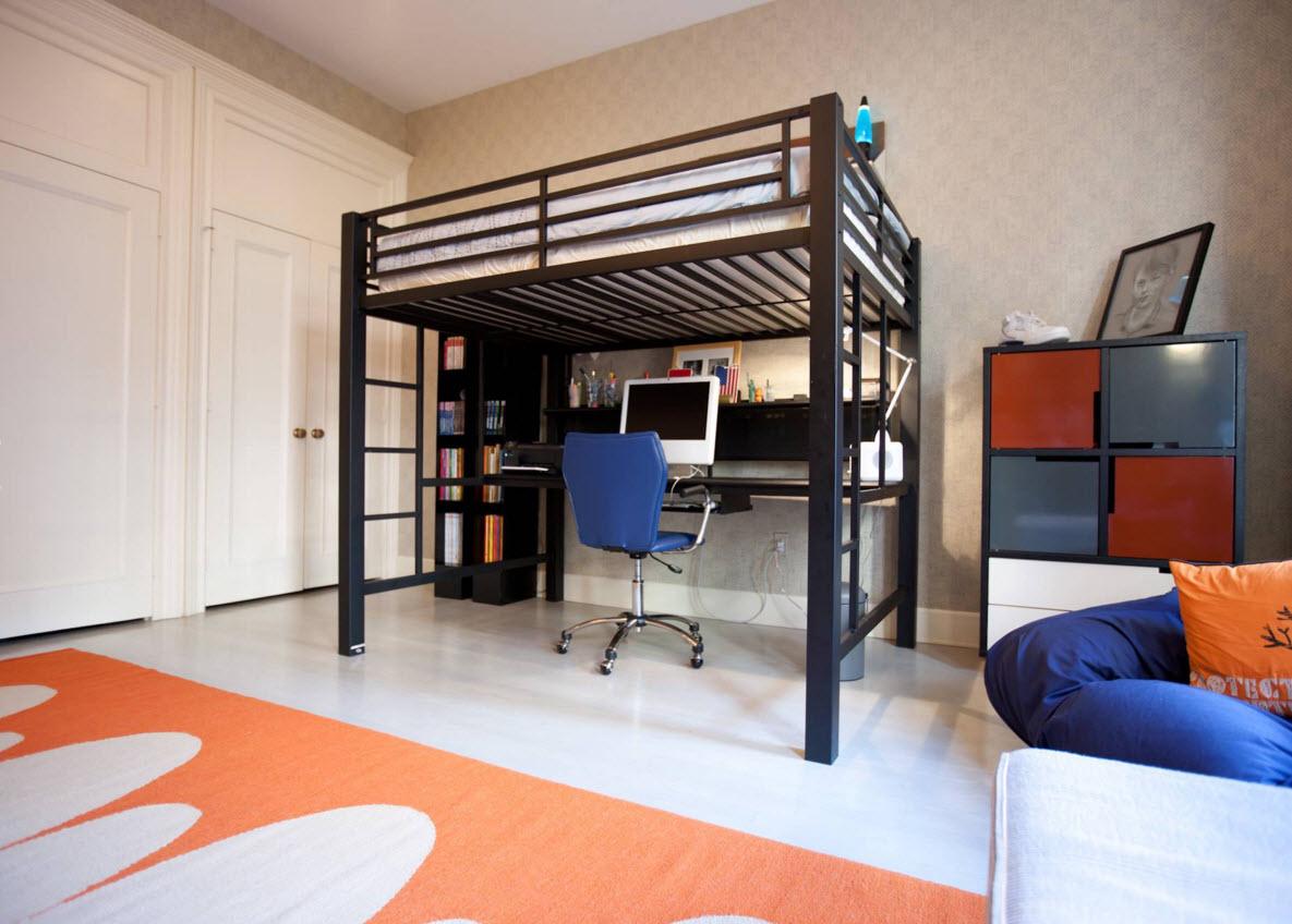 Оригинальная кровать-чердак