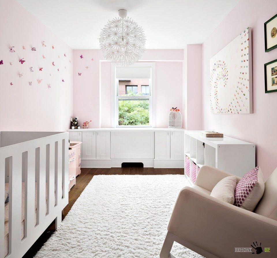 Отделка комнаты для младенца