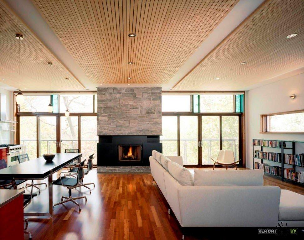 Необычное оформление потолка