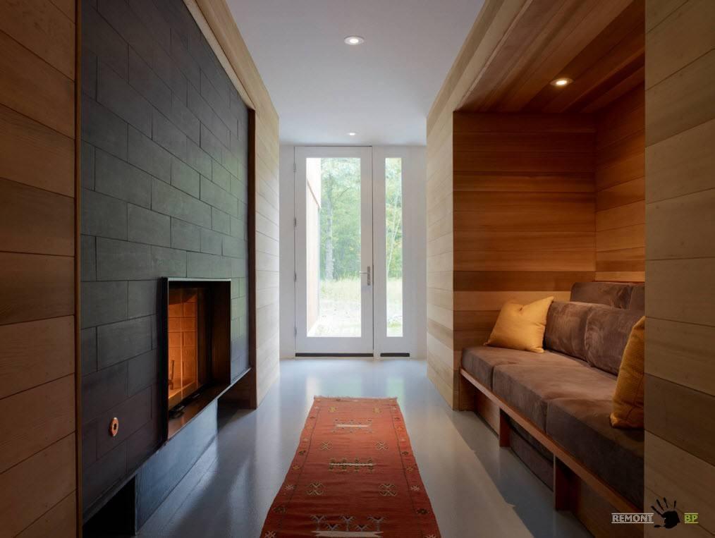 Деревянные настенные панели