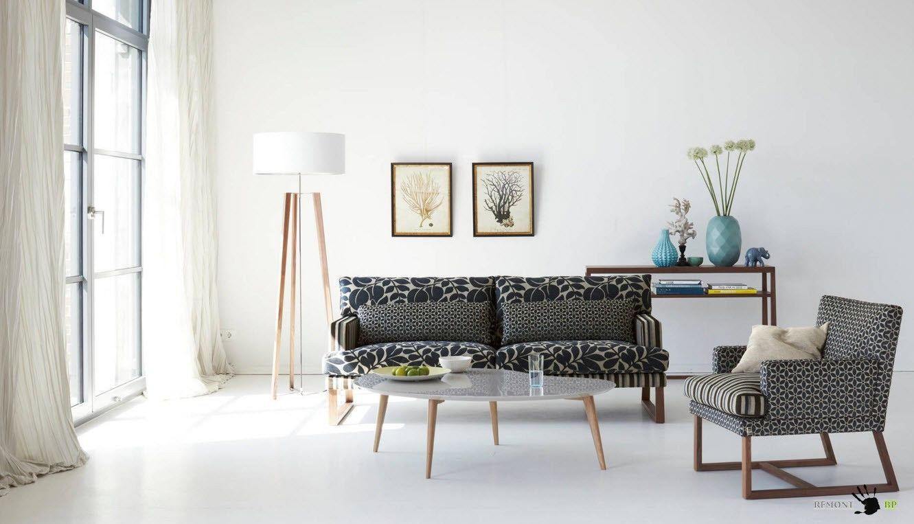 Пестрая обивка мебели