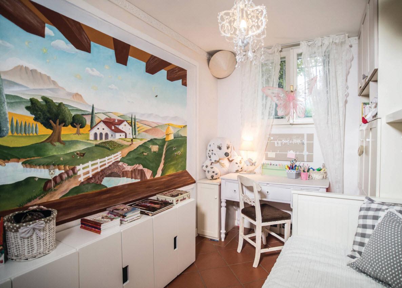 Белая мебель для детской