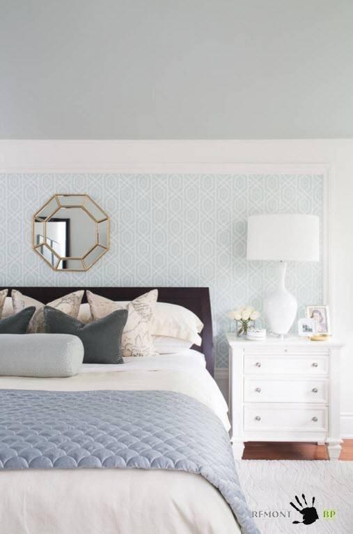 Нейтральный дизайн спальни