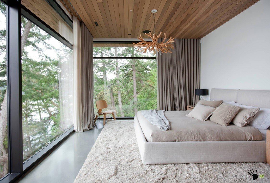 Необычный дизайн для спальни