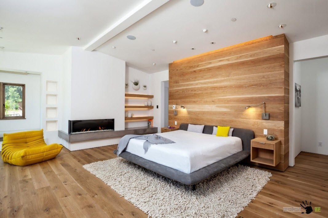 Отделка с помощью деревянных панелей