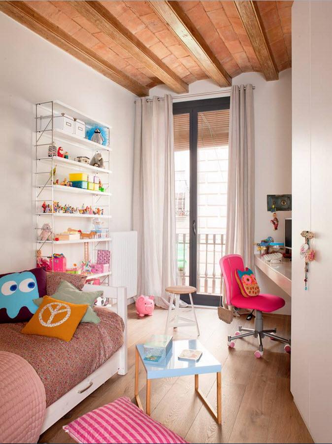 Необычный потолок в детской