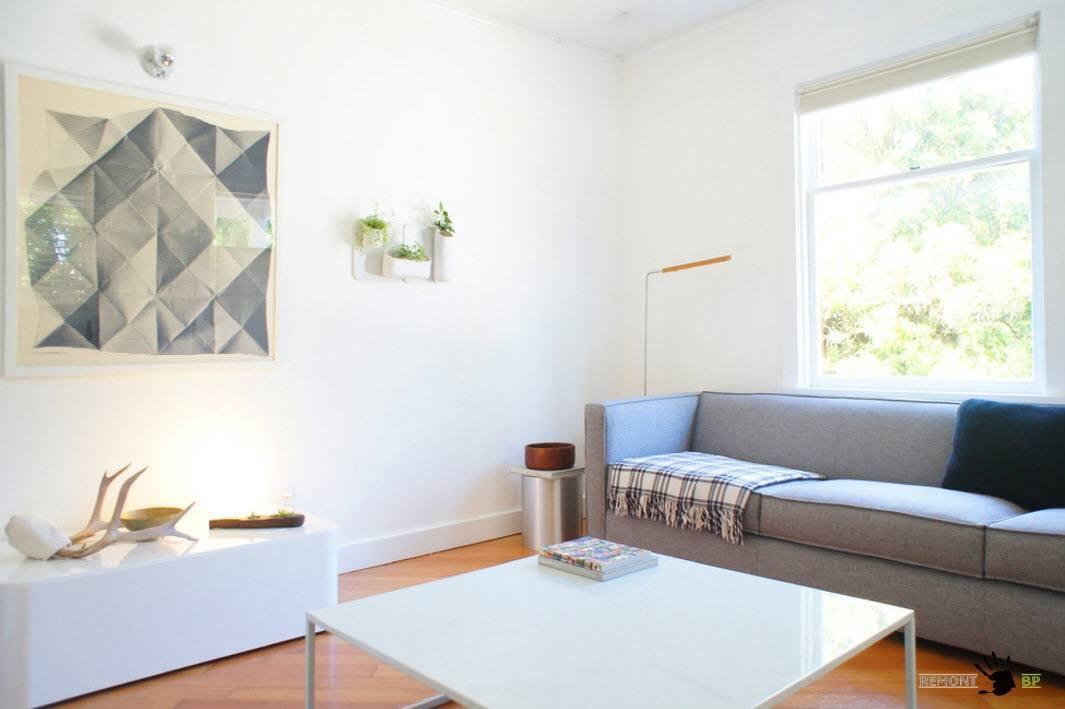 Светлые оттенки и минимализм в дизайне