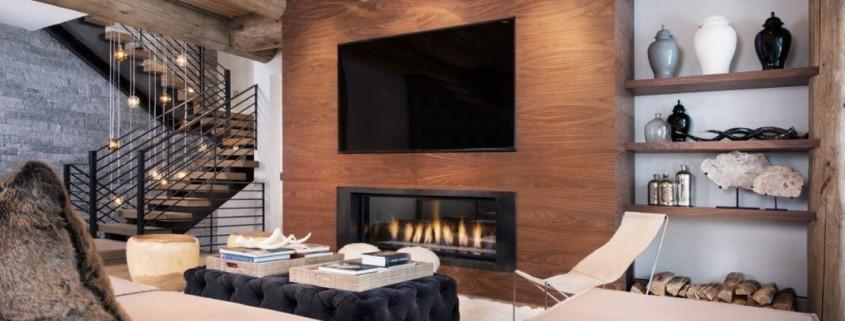 Дизайн гостиной 85
