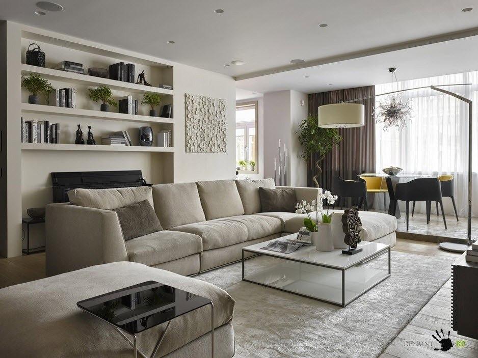 Светлая мебель для современного интерьера