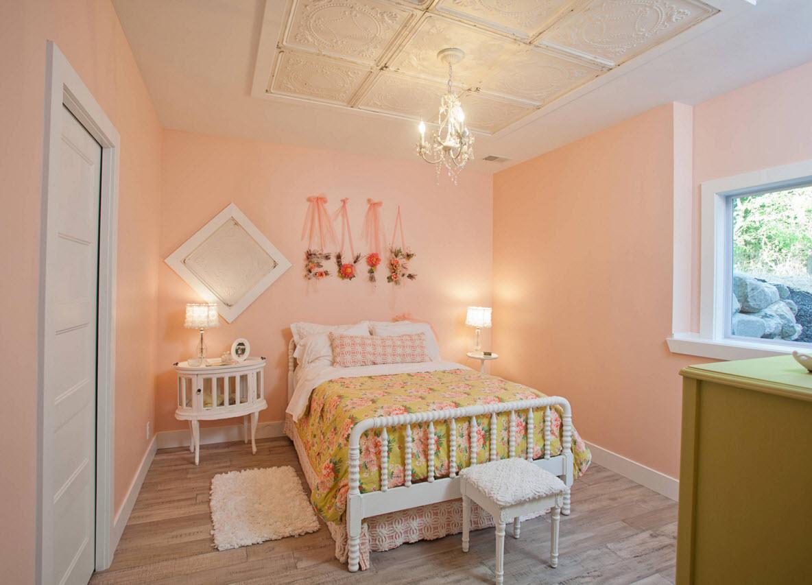 Нежный персиковый для детской комнаты