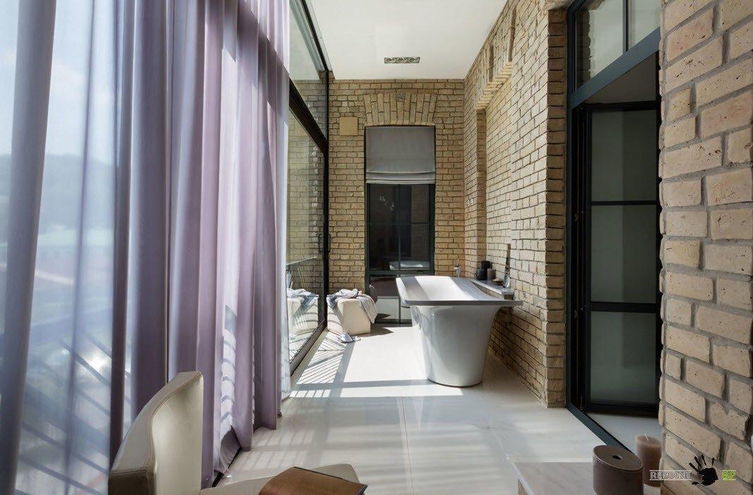Отсутствие отделки в ванной