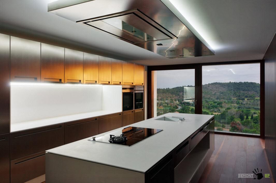 Новинки в дизайне кухонных интерьеров